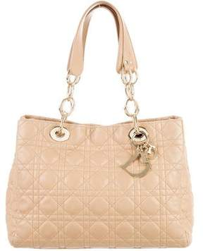 Christian Dior Cannage Soft Shopper Tote
