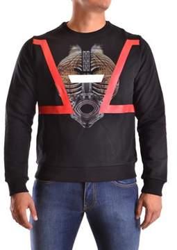 Les Hommes Men's Multicolor Cotton Sweatshirt.