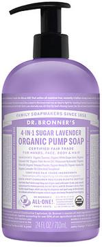 Dr. Bronner's 4-IN-1 Sugar Baby Organic Pump Soap Lavender