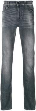 7 For All Mankind stone wash denim jeans