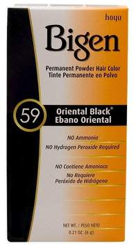 Bigen Hair Color 59 Oriental Black