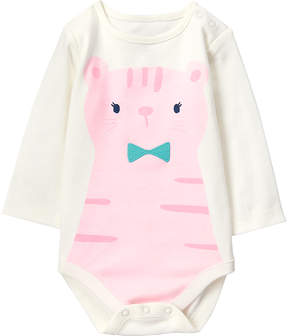 Gymboree Pink Tiger Appliqué Bodysuit - Infant
