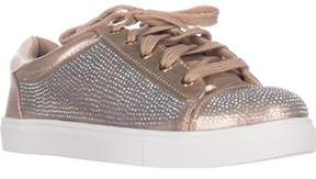 Material Girl Womens Melanie Low Top Lace Up Fashion Sneakers.
