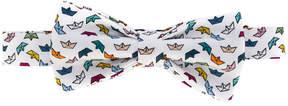 fe-fe boat print bow tie