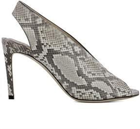 Jimmy Choo Women's Grey Leather Heels.