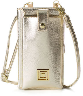 Liz Claiborne Charging Phone Crossbody Bag