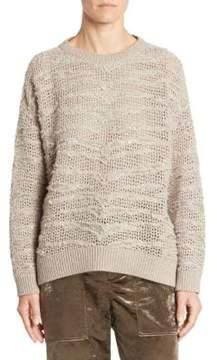 Brunello Cucinelli Cashmere Sequin Sweater