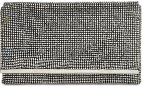 Adrianna Papell Nancy Slim Stone Beaded Small Clutch