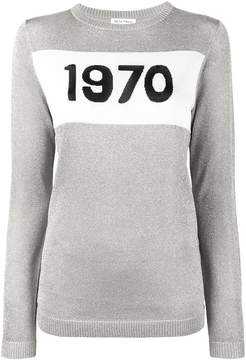 Bella Freud 1970 silver knitted jumper