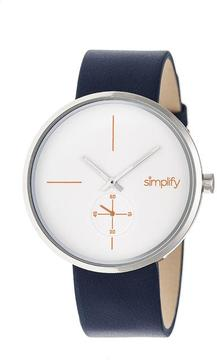 Simplify The 4400 Collection SIM4401 Silver Analog Watch