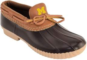 NCAA Women's Michigan Wolverines Low Duck Step-In Shoes