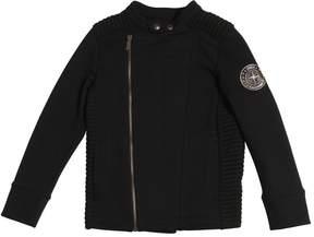John Galliano Zip Up Cotton Sweatshirt Jacket
