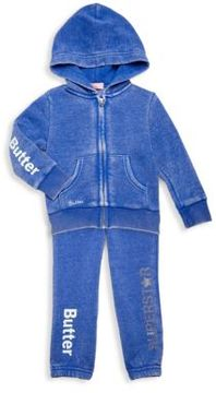 Butter Shoes Toddler's Two-Piece Jacket and Hood Set