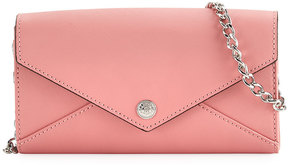 Rebecca Minkoff Saffiano Wallet On A Chain Bag, Pink - PINK - STYLE