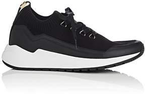 Buscemi Men's RUN1 Knit & Leather Sneakers