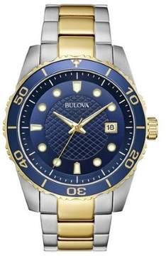 Bulova Sport Blue Dial Men's Watch 98A200