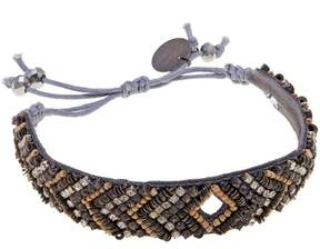 Deepa Gurnani deepa by Sara Beaded Adjustable Slide Bracelet