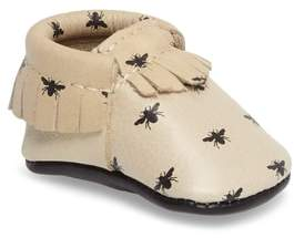 Freshly Picked Infant Girl's Honeybee Print Moccasin