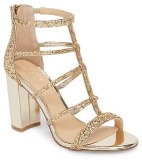 Badgley Mischka Tiffy Glitter Sandal