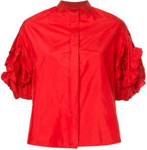 Dice Kayek statement sleeve blouse