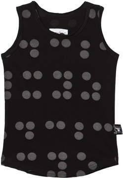 Nununu Black Braille Tank Top