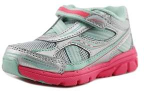 Saucony Girls Baby Ride Youth Us 12 W Silver Walking Shoe.