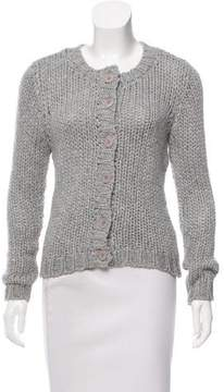 Inhabit Wool-Blend Button-Up Cardigan w/ Tags