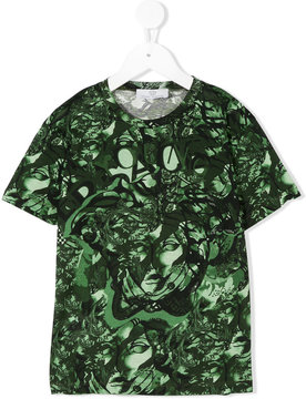 Young Versace printed T-shirt