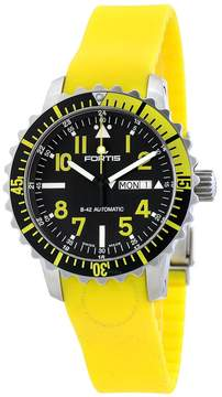 Fortis Marinemaster Automatic Black Dial Men's Watch