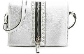 Women's Klassy Crossbody -Silver Metallic