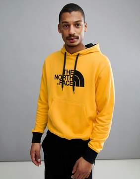 The North Face Drew Peak Pullover Hoodie In Yellow