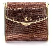 Judith Leiber Pre-owned: Flap Minaudiere Crystal Mini.