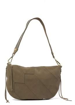 Hobo Cisco Suede Shoulder Bag
