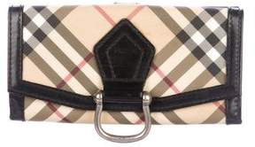 Burberry Super Nova Check Wallet