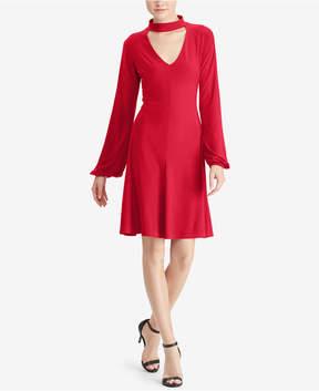 American Living Choker Fit & Flare Dress
