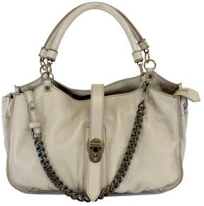 Burberry Medium Taupe Grainy Leather Bag - TAUPE - STYLE
