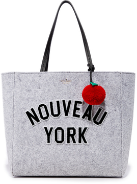 Kate Spade New York Hallie Tote - LIGHT CHARCOAL - STYLE