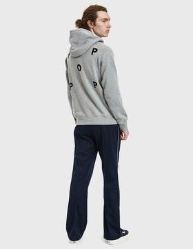 Co Pop Trading Logo Hooded Sweatshirt in Grey