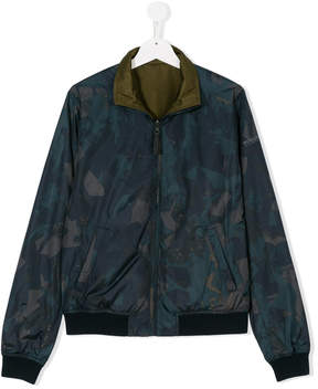 Woolrich Kids TEEN reversible jacket