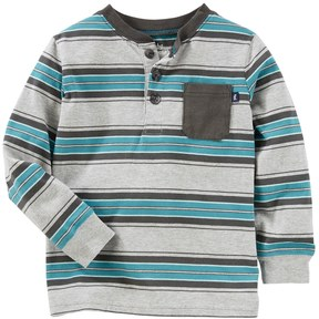 Osh Kosh Toddler Boy Striped Henley