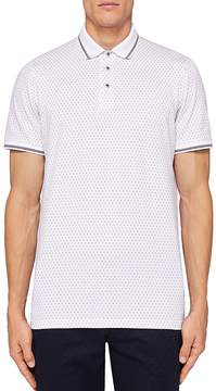 Ted Baker Abot Geo Print Regular Fit Polo