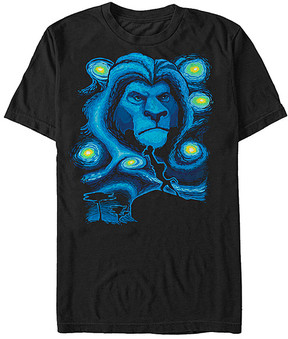 Fifth Sun Black The Lion King Starry Lion Tee - Men