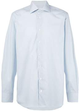 Hardy Amies checked cotton shirt