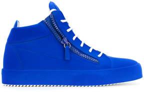 Giuseppe Zanotti Design The Unfinished hi-top sneakers