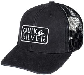Quiksilver Black Shade Ride Trucker Hat