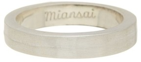 Miansai Half-Layered Ring - Size 10