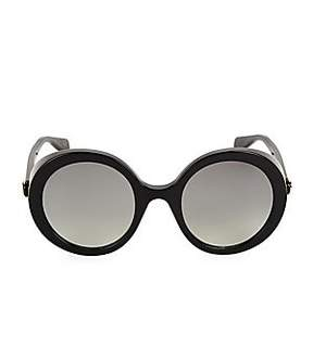 Gucci Women's 52MM Round Sunglasses- Black