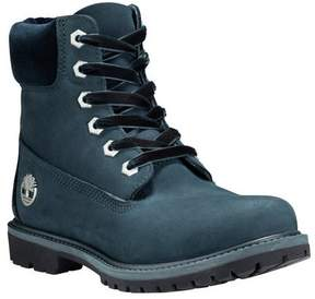 Timberland Women's 6' Premium Leather/Fabric Waterproof Boot