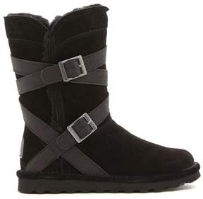 BearPaw Shelby Suede Belted Boot with NeverWet