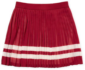 Tommy Hilfiger Pleated Chiffon Skirt